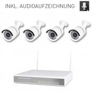 Video surveillance with internet