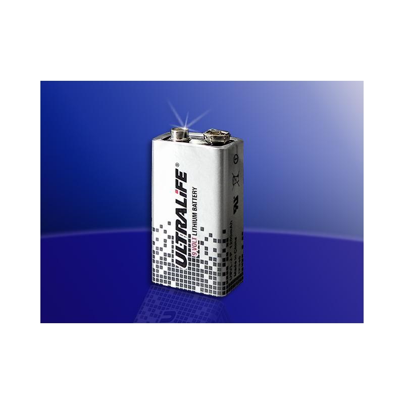 lithium 9 v block batterie 1200 mah amg alarmtechnik. Black Bedroom Furniture Sets. Home Design Ideas