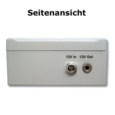 Smart-Home switch 12V NC/NO relay switch for control of lights, sirens etc.