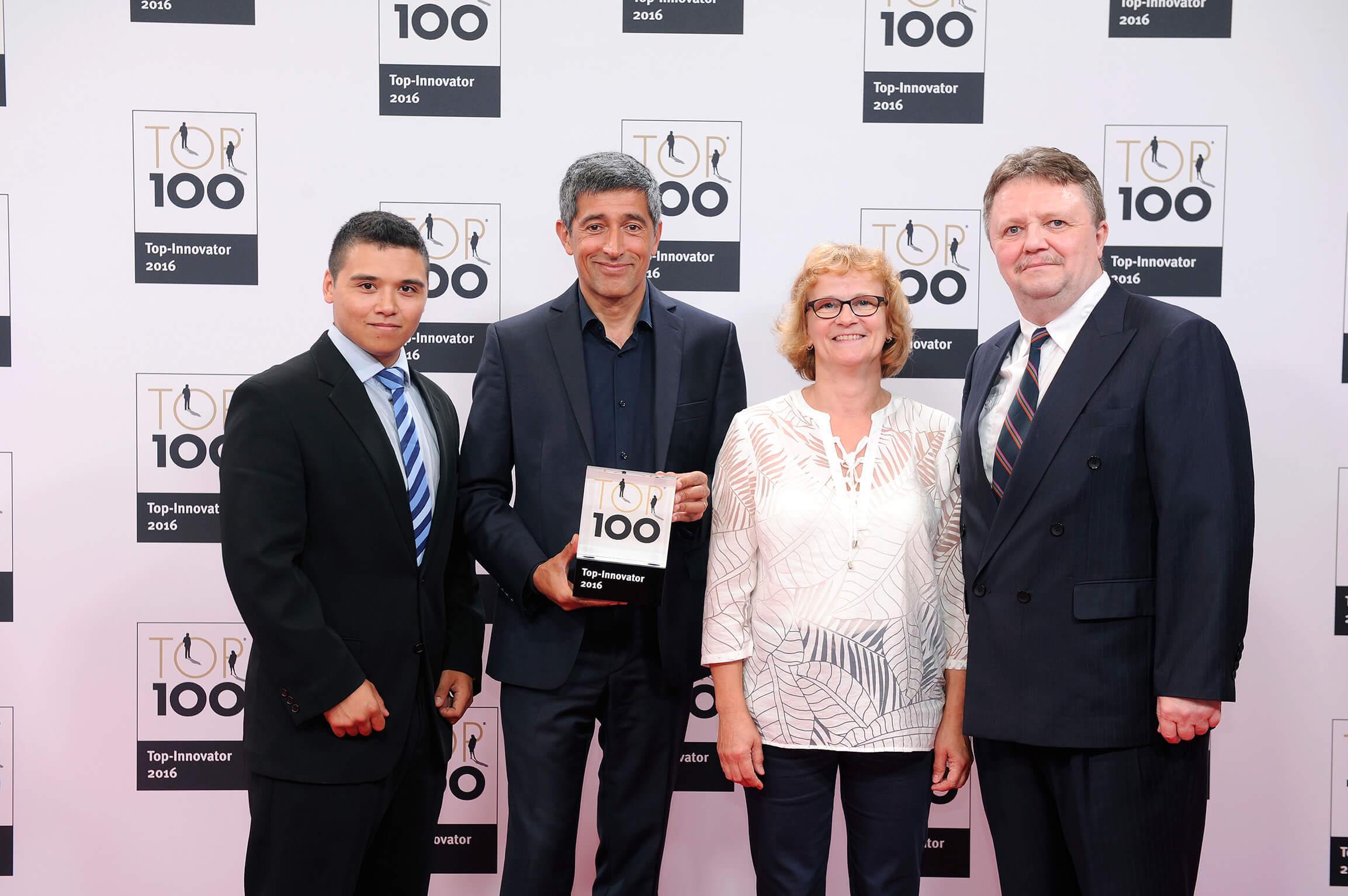 Preisübergabe TOP-100
