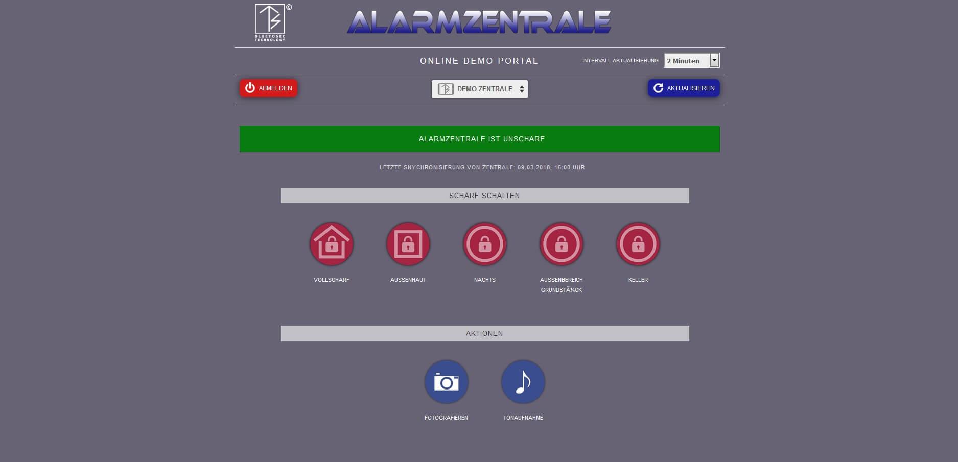 Bluetosec_Onlineportal