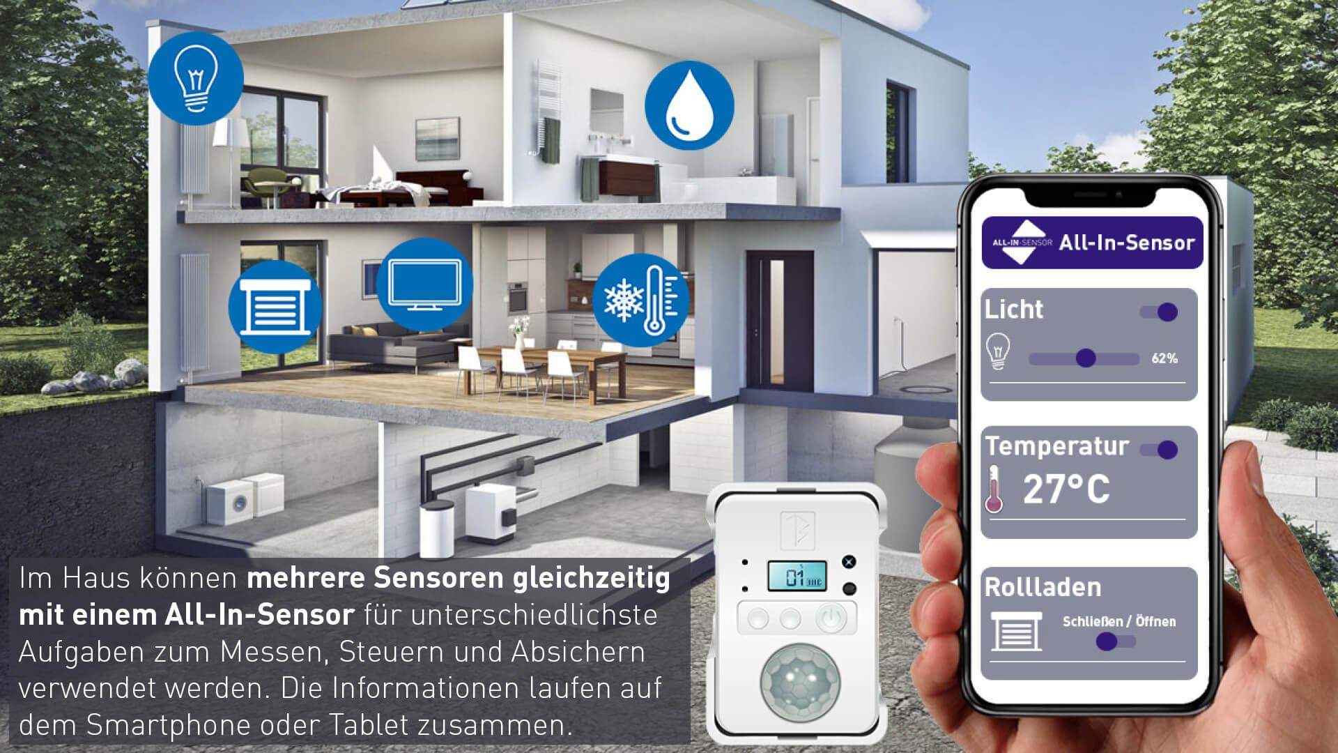 Anwendung vieler Sensoren