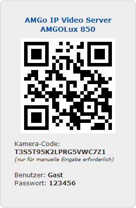 AMGoIp 850 QR-Code