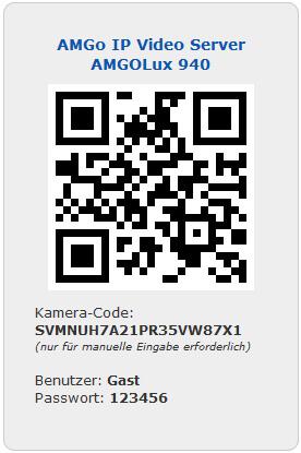 AMGoIp 940nm QR-Code