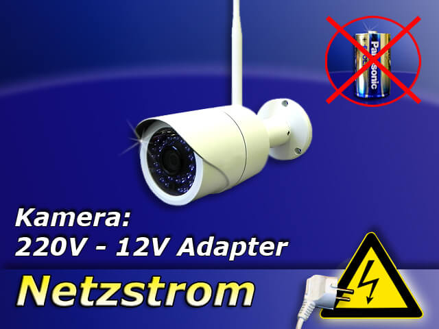 DVR 634 HD Wand-Kamera 960p mit 940 nm