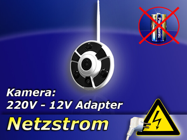 DVR 634 Wand-Kamera