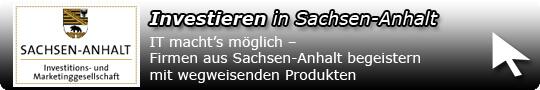 Investieren in Sachsen-Anhalt