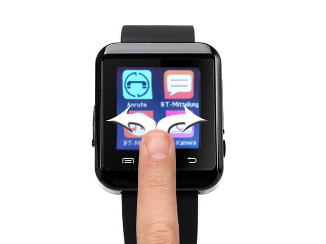 Smartwatch S-Watch-100 bedienung
